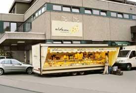 Verkaufsstand in Waiblingen