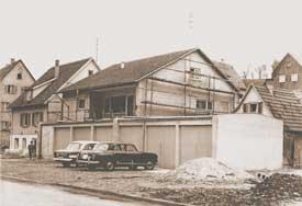 Erstes Firmengebäude von Widmann in Waiblingen