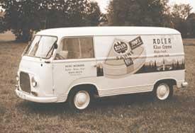 Lieferwagen von Widmann
