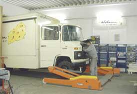 Instandsetzungen der Verkaufswagen